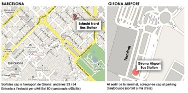 Girona's Airport by Bed & Brekafast in Barcelona